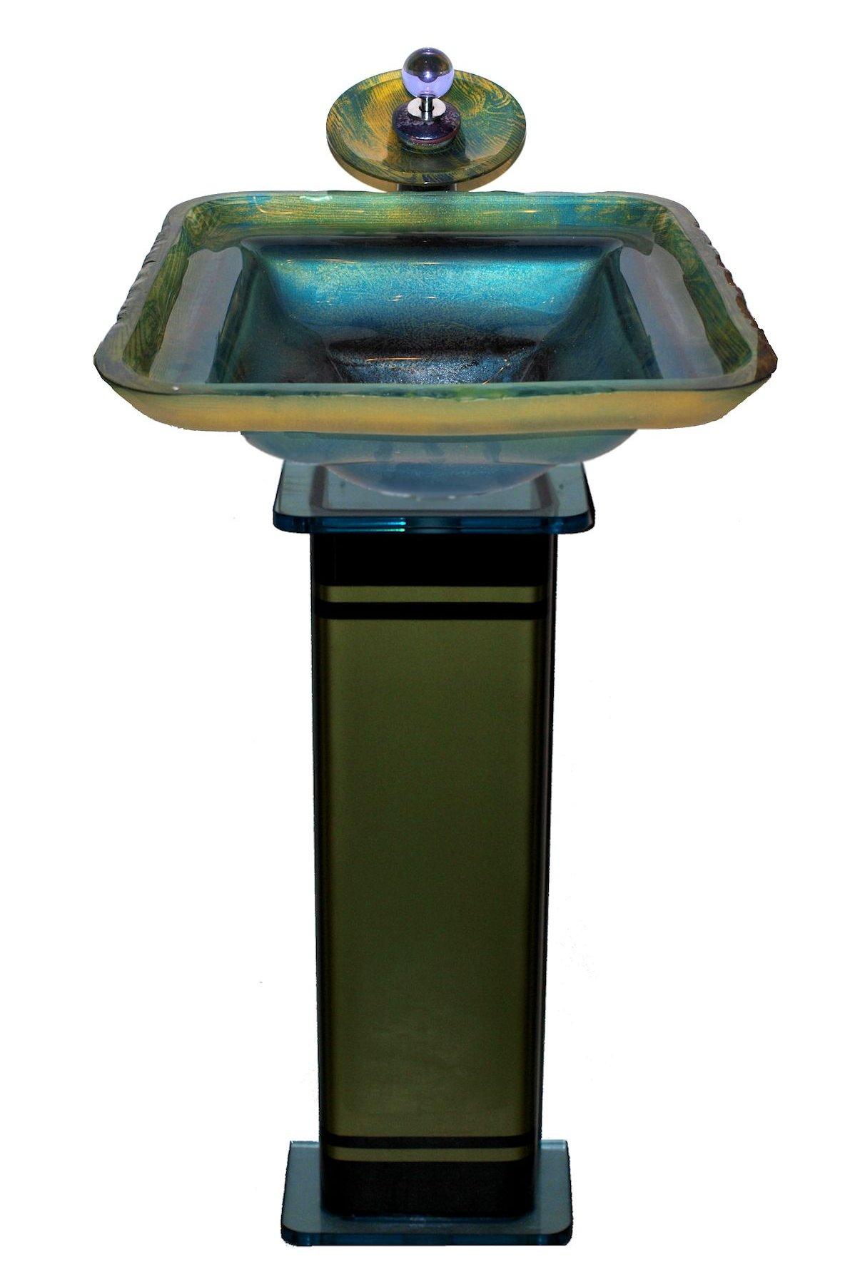 Картинка раковины из стекла 777-wdo-6018