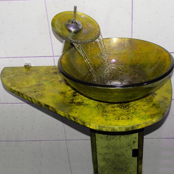 Раковина со столешницей 129-ton-1012