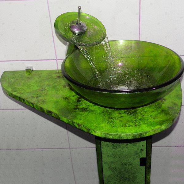 Раковина со столешницей 129-ton-6017
